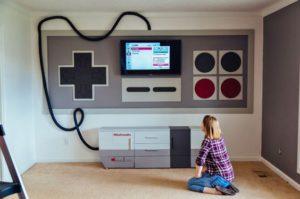 идея оформления комнаты геймера