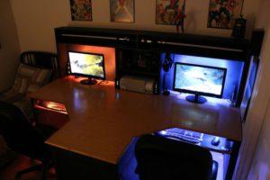incredible-cool-computer-setups-and-gaming-setups-another-good-idea-house-regarding-gaming-desk-setup-ideas